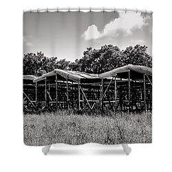 Tobacco House Shower Curtain