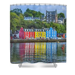 Tobermory Isle Of Mull Shower Curtain
