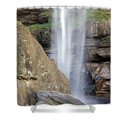 Toccoa Falls 1 Shower Curtain