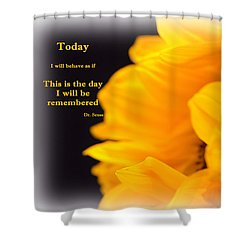 Today Shower Curtain