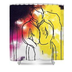 Together Shower Curtain by Bjorn Sjogren