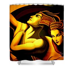 Together Shower Curtain by Newel Hunter