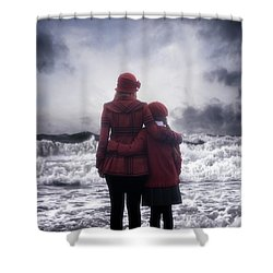 Together We Are Strong Shower Curtain by Joana Kruse