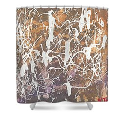 'together' Shower Curtain