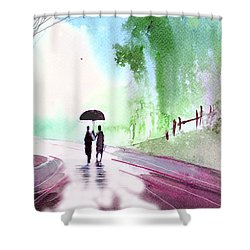 Togetherness Shower Curtain by Anil Nene