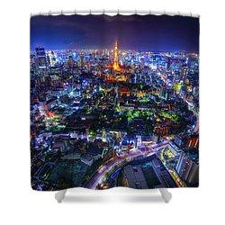 Tokyo Dreamscape Shower Curtain