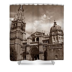 Toledo Cathedral Shower Curtain