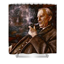 Tolkien Daydreams Shower Curtain