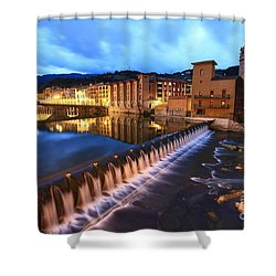 Shower Curtain featuring the photograph Tolosa Basque Country by Mariusz Czajkowski