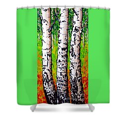 Tom Dick And Harry Shower Curtain by Jackie Carpenter