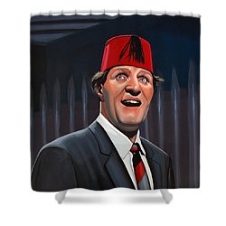 Tommy Cooper Shower Curtain by Paul Meijering