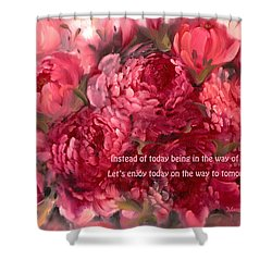 Tomorrow Shower Curtain