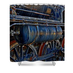 Tonnage Shower Curtain by Skip Willits