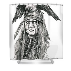 Tonto Shower Curtain by Murphy Elliott