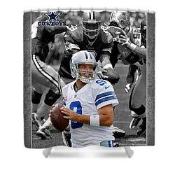 Tony Romo Cowboys Shower Curtain