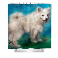 Too Sexy For My Fur Shower Curtain