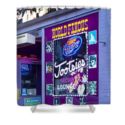 Tootsies Nashville Shower Curtain