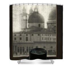 Top Hat Shower Curtain by Joana Kruse