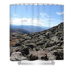Top View Mt Washington Shower Curtain