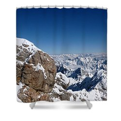 Top Of Germany  Shower Curtain by The Creative Minds Art and Photography