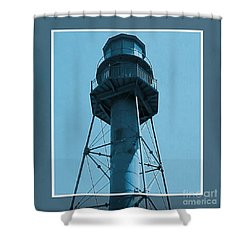 Shower Curtain featuring the photograph Top Of Sanibel Island Lighthouse by Janette Boyd