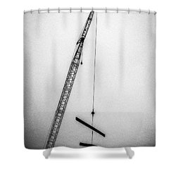Top Of The Skyscraper Shower Curtain by Bob Orsillo