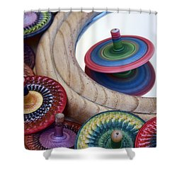 Tops Shower Curtain by Nikolyn McDonald