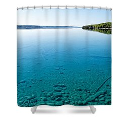 Torch Lake Shower Curtain