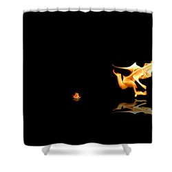 Torch Relay Shower Curtain