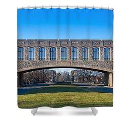 Torgersen Hall At Virginia Tech Shower Curtain
