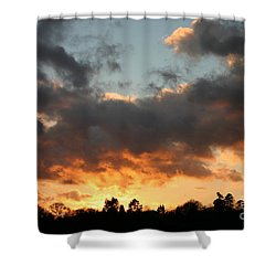 Tormented Sky Shower Curtain