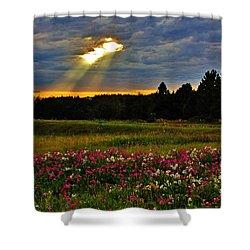 Torn Sky Shower Curtain