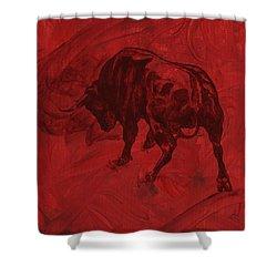 Toro Painting Shower Curtain