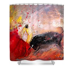 Toroscape 48 Shower Curtain by Miki De Goodaboom