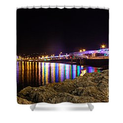 Torquay Lights Shower Curtain