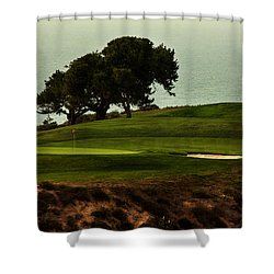 Torrey Pines Golfcourse Shower Curtain