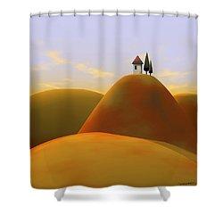 Toscana 2 Shower Curtain by Cynthia Decker