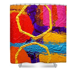 Totem Iv Shower Curtain by John  Nolan