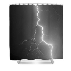Shower Curtain featuring the photograph Touch And Go by J L Woody Wooden