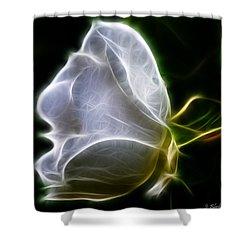 Touch My Heart Shower Curtain by Jordan Blackstone