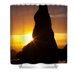 Touch Of Hope Shower Curtain by Mark Kiver