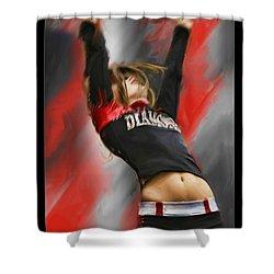 Touchdown Shower Curtain by Blake Richards
