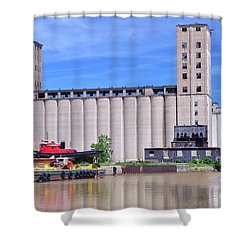 Tour Down Buffalo River Shower Curtain by Kathleen Struckle