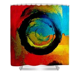 Touring A Parallel Universe Shower Curtain by Lisa Kaiser