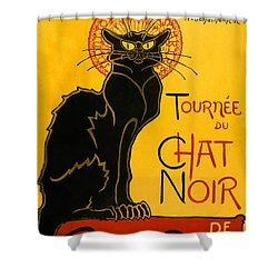 Tournee Du Chat Noir Shower Curtain