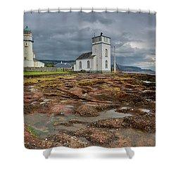 Toward Lighthouse  Shower Curtain