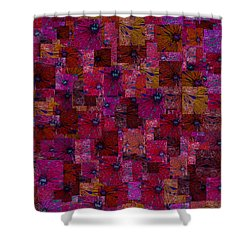 Toward Square Shower Curtain by Jack Zulli