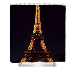 Tower At Night Shower Curtain
