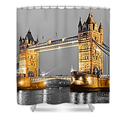 Tower Bridge - London - Uk Shower Curtain by Luciano Mortula