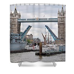 Tower Bridge Opens Shower Curtain